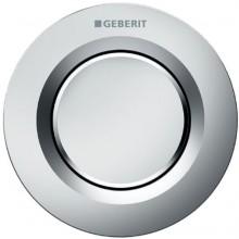 GEBERIT TYP 01 dálkové ovládání 9,4cm, pneumatické, pro 1 množství splachování, tlačítko pod omítku, mat chrom