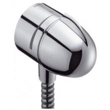 HANSGROHE přípojka hadice FixFit Stop s uzavíracím ventilem a zpětným ventilem chrom 27452000