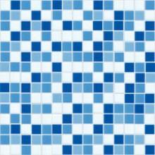 Obklad Butterfly EUROMOSAIC 20x20mm modrobílý mix