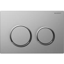 GEBERIT OMEGA 20 ovládací tlačítko 21,2x14,2cm, chrom mat/lesk 115.085.KN.1