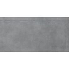 RAKO EXTRA schodovka 40x80cm, tmavě šedá