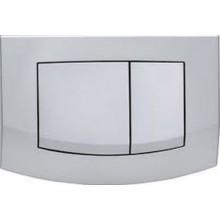 TECE AMBIA ovládací tlačítko 214x152mm, dvoumnožstevní splachování, matný chrom