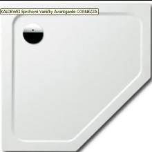 KALDEWEI CORNEZZA 670-1 sprchová vanička 900x900x25mm, ocelová, pětiúhelníková, bílá 459000010001