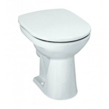 WC mísa Laufen odpad vodorovný Pro  bílá
