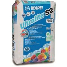 MAPEI ULTRALITE S2 lepidlo 15kg cementové, jednosložkové, šedá