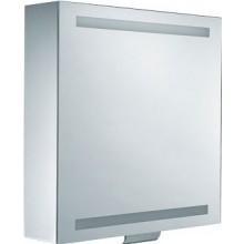 KEUCO EDITION 300 zrcadlová skříňka 650x650mm, s osvětlením, stříbrná