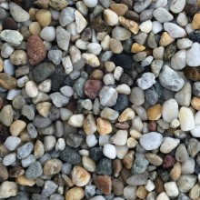 MUREXIN kamenivo hrubé 2-4mm, 25kg, mramorové, říční, bílošedá