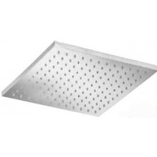 SANJET hlavová sprcha 30x30cm bez ramínka, mosaz/chrom