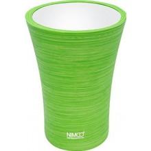 NIMCO ATRI pohárek 85x115mm, na kartáčky, zelená