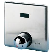 SANELA SLS02 ovládání sprchy 24V DC, automatické se směšovací baterií, pro teplou a studenou vodou, nerez