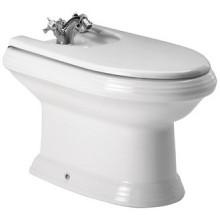 Bidet Roca 1-otvorový America vč. instalační sady bílá