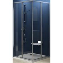 Zástěna sprchová dveře Ravak sklo SRV2-100 rohový vstup 100 bílá/transparent