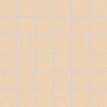 Dlažba Rako Sandstone Plus mozaika 29,5x29,5(4,7x4,7)cm okrová