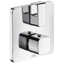 HANSGROHE AXOR URQUIOLA termostat s podomítkovou instalací s uzavíracím a přepínacím ventilem chrom 11733000