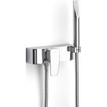 ROCA THESIS sprchová páková baterie se sprchou, hadicí a držákem, chrom
