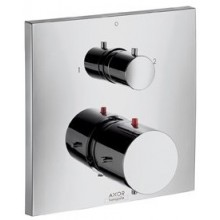 AXOR STARCK X termostat pod omítku s uzavíracím a přepínacím ventilem chrom 10726000