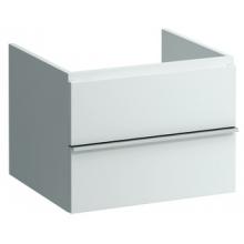 LAUFEN CASE zásuvkový element 595x520x450mm se 2 zásuvkami, se systémem SoftClose, bílá 4.0521.4.075.463.1