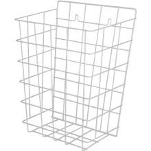SANELA SLZN40 univerzální drátěný koš, 290x130x385mm, bílá