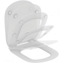 IDEAL STANDARD TESI klozetové sedátko, ultra ploché, Soft-close, bílá