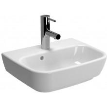 Umývátko klasické Vitra s otvorem Shift s přepadem 45x35 cm bílá