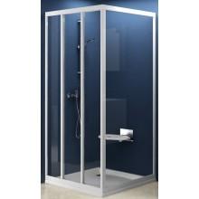 Zástěna sprchová dveře Ravak sklo APSS-pevná stěna 900x1880 mm satin/transparent
