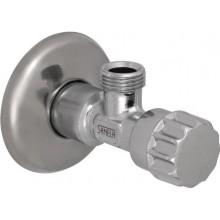 """SANELA SLR 54 rohový ventil 1/2""""x3/8"""", s rozetou, vřetenový"""