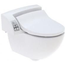 GEBERIT AQUACLEAN 5000 PLUS závěsné WC 48,5x55cm s bidetovacím sedátkem, bílá