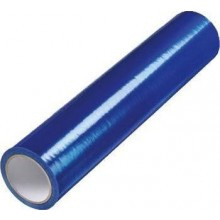 DEN BRAVEN ochranná fólie 0,5mx75m, samolepící, jednostranná, na okna a dveře, modrá