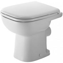 DURAVIT D-CODE stojící klozet 350x480mm s hlubokým splachováním, bílá 2108090002