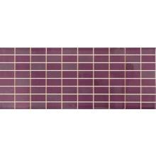 MARAZZI NUANCE mozaika 20x50cm prořezávaná, violet