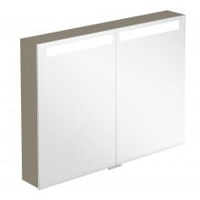 VILLEROY & BOCH VERITY DESIGN zrcadlová skříňka 800x149x746,5mm s osvětlením, antracit lesk B304F8FP