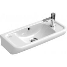 Umývátko klasické Villeroy & Boch s otvorem Verity Design 530x250mm Bílá Alpin Ceramicplus