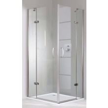 Zástěna sprchová dveře Huppe sklo Aura elegance Akce 900x1900mm stříbrná lesklá/čiré AP