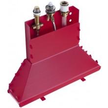 HANSGROHE METRIS základní těleso pro tříotvorovou pákovou vanovou baterii chrom 13437180