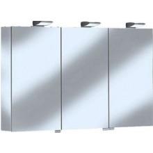 KEUCO ROYAL 35 zrcadlová skříňka 1300x740mm, s osvětlením, stříbrná