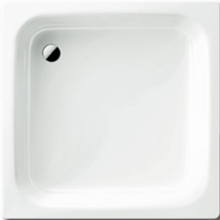 KALDEWEI SANIDUSCH 496 sprchová vanička 900x900x250mm, ocelová, čtvercová, bílá Perl Effekt, Antislip