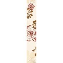 VILLEROY & BOCH MELROSE listela 10x60cm, red-beige