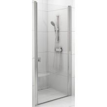RAVAK CHROME CSD1 80 sprchové dveře 775-805x1950mm jednodílné satin/transparent 0QV40U00Z1