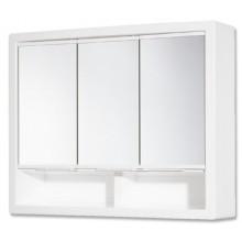 JOKEY ERGO zrcadlová skříňka 62x16,5x51cm bez osvětlení, plast, bílá