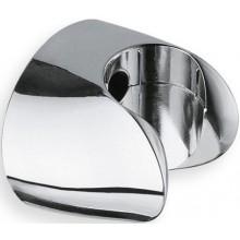 CRISTINA nástěnný držák pevný pro ruční sprchu 45x41mm chrom LISPD47251