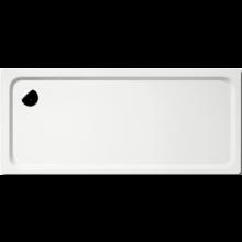 KALDEWEI SUPERPLAN XXL 436-1 sprchová vanička 750x1600x40mm, ocelová, obdélníková, bílá, Antislip 433630000001