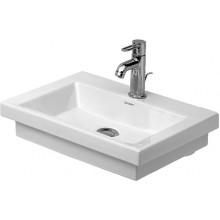Umývátko klasické Duravit s otvorem 2nd floor 50x40 cm bílá