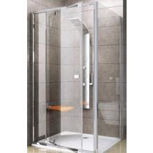 RAVAK PIVOT PPS-90 pevná stěna 870-895x1900mm jednodílná, bright alu/transparent 90G70C00Z1