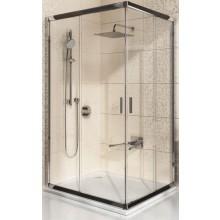 RAVAK BLIX BLRV2K 90 sprchový kout 880-900x1900mm rohový, posuvný, čtyřdílný satin/transparent 1XV70U00Z1