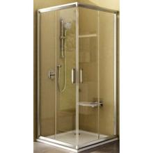 RAVAK RAPIER NRKRV2 90 sprchový kout 900x900x1900mm rohový, posuvný bílá/transparent 1AN70100Z1
