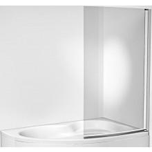 JIKA MIO jednodílná vanová zástěna 910x1530mm, levopravá transparentní