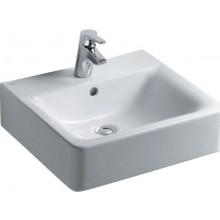 Umyvadlo klasické Ideal Standard s otvorem Connect Cube 50x46 cm bílé
