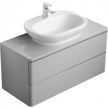 IDEAL STANDARD SOFTMOOD skříňka 1000x440mm pod umyvadlo, lesklý lak světle šedý T7802S4