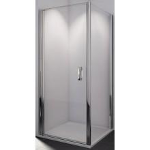 SANSWISS SWING LINE SLT1 boční stěna 800x1950mm, matný elox/čiré sklo