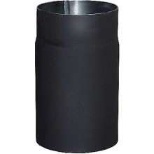 Roura 130mm kouřová, 1,5mm, délka 0,5m, černá ocel